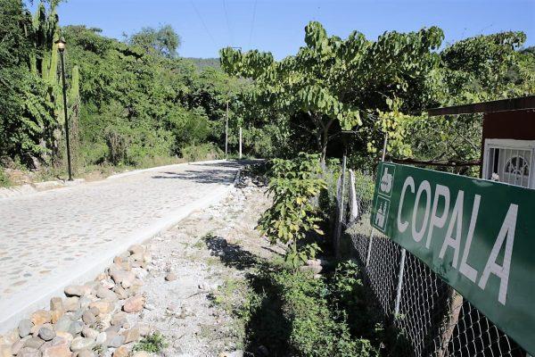 Inauguración Pavimentación Caelle Principal Copala Pueblo Señorial Concordia Sinaloa ZOna Trópico 2020 2