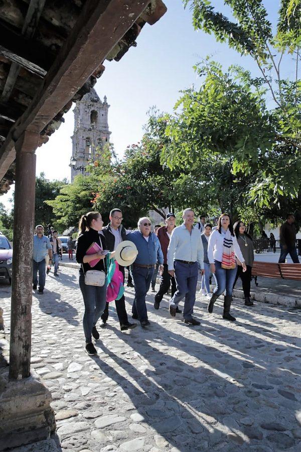 Inauguración Pavimentación Caelle Principal Copala Pueblo Señorial Concordia Sinaloa ZOna Trópico 2020 3