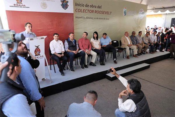 Inician Obras en Colector Roosvelt y Anuncian la rehabilitación de la Camarón Sábalo, en la Zona Dorada de Mazatlán 3