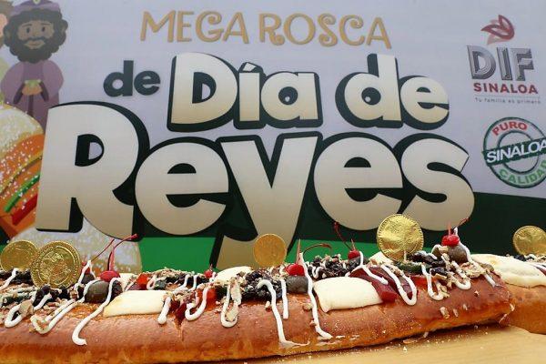 Mega Rosca de Reyes Sinaloa DIF 2020 Invitación 4