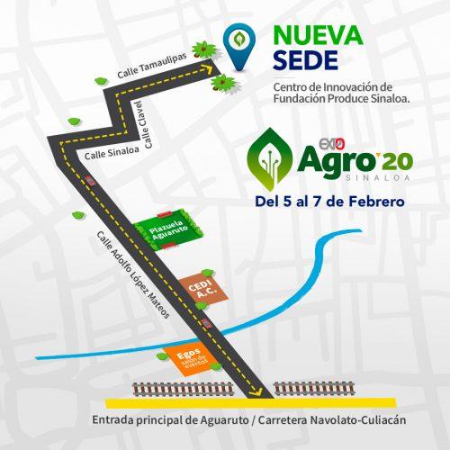 Nueva Sede de Expo Agero Sinaloa 2020