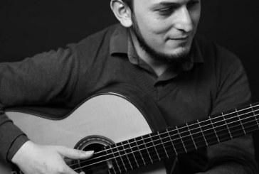 Concierto del joven guitarrista mexicano Antonio Laguna.