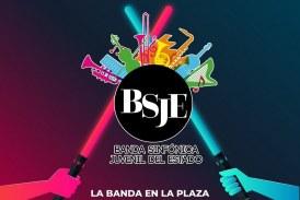 Banda Sinfónica Juvenil en la Plazuela Álvaro Obregón