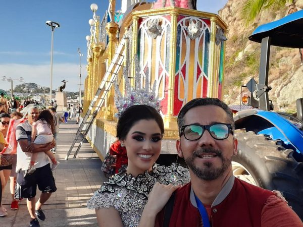 Carlos Piña y las Soberanas Defile Domingo de Carnaval de Mazatlán 2020