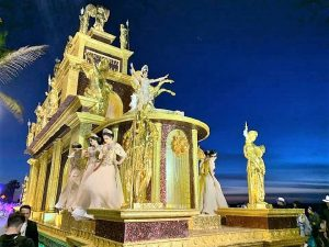 Carroza Libia II Reina del Carnaval Internacional de Mazatlán 2020