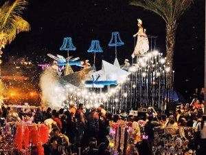Carroza Real Carnaval de Mazatlán Columna Interactiva 4 2020