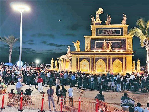 Carroza Real Carnaval de Mazatlán Columna Interactiva 4 b 2020
