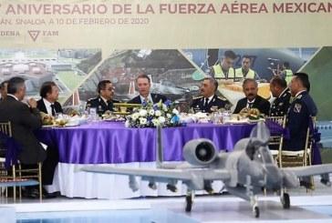 Conmemoran el 105 aniversario de la Fuerza Aérea Mexicana
