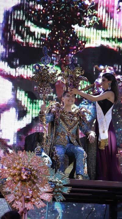 Coronación Rey de la Alegría Carnaval Internacional de Mazatlán Paco Vazga 2020 Galería 2