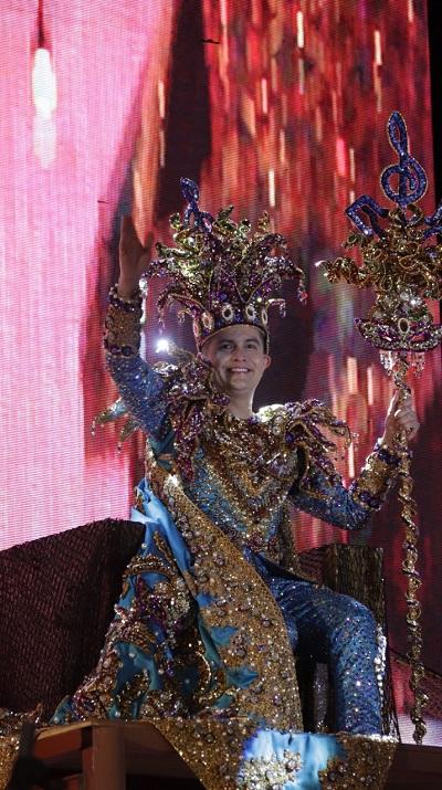 Coronación Rey de la Alegría Carnaval Internacional de Mazatlán Paco Vazga 2020 Galería 3