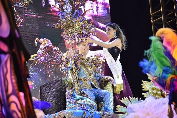 Coronación Rey de la Alegría Carnaval Internacional de Mazatlán Paco Vazga 2020 Galería