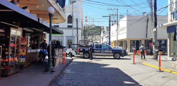 Desalojan Vendedores Ambulantes del Mercado Pino Suárez de Mazatlán Febrero 2020 (7)