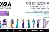 Temporada de  Café Conciertos de la OSSLA