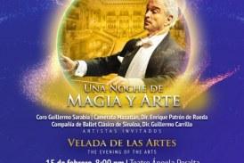"""""""Una noche de magia y arte"""" en el TAP"""