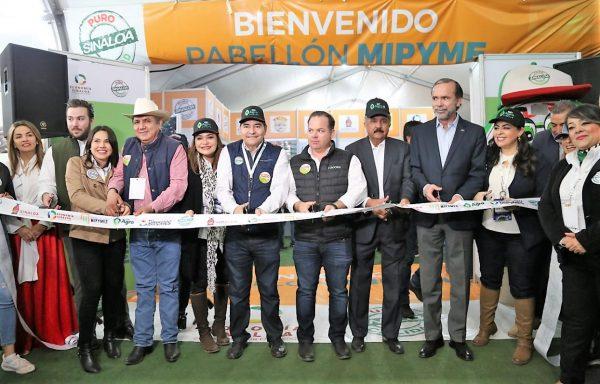 Inauguración Pabellón MIPYME Expo Agro Sinaloa 2020 1