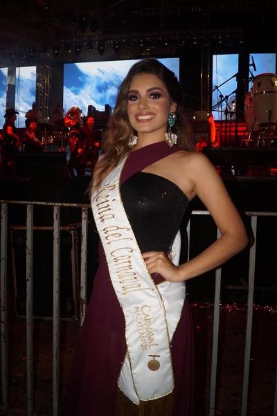 Libia Gavica Farriols II Reina dle Carnaval de Mazatlán 2020