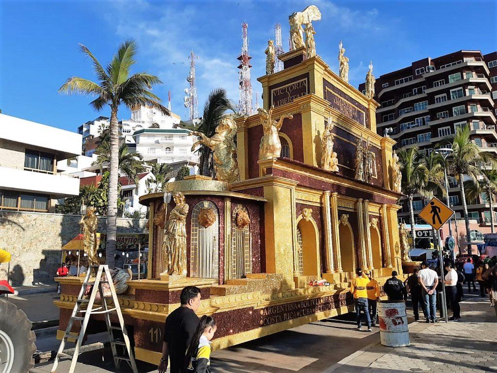 Primer Desfile Domingo de Carnaval de Mazatlán 2020 Carroza