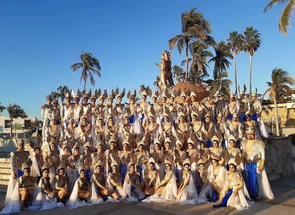 Primer Desfile Domingo de Carnaval de Mazatlán 2020 Corte Real