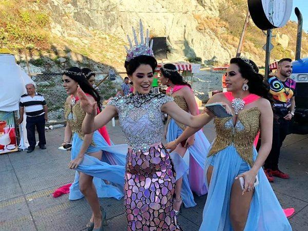 Primer Desfile Domingo de Carnaval de Mazatlán 2020 Libia II y princesas