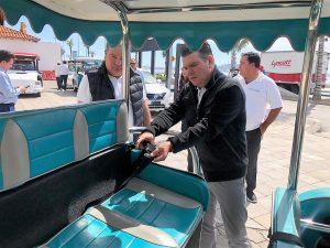 Con el propósito de poder ingresar al muelle de los cruceros turísticos y dar el servicio de alquiler, el Sindicato de Pulmonías de Mazatlán solicitó la intervención del Secretario de Turismo Óscar Pérez Barros para que los apoye en la solicitud que se tiene ante la Administración Portuaria Integral (API).