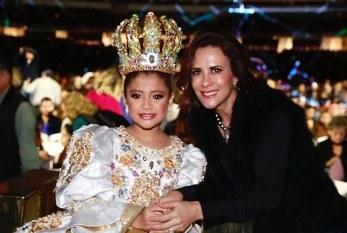 Coronan a Valentina I como la Reina del Carnaval Infantil de Mazatlán 2020