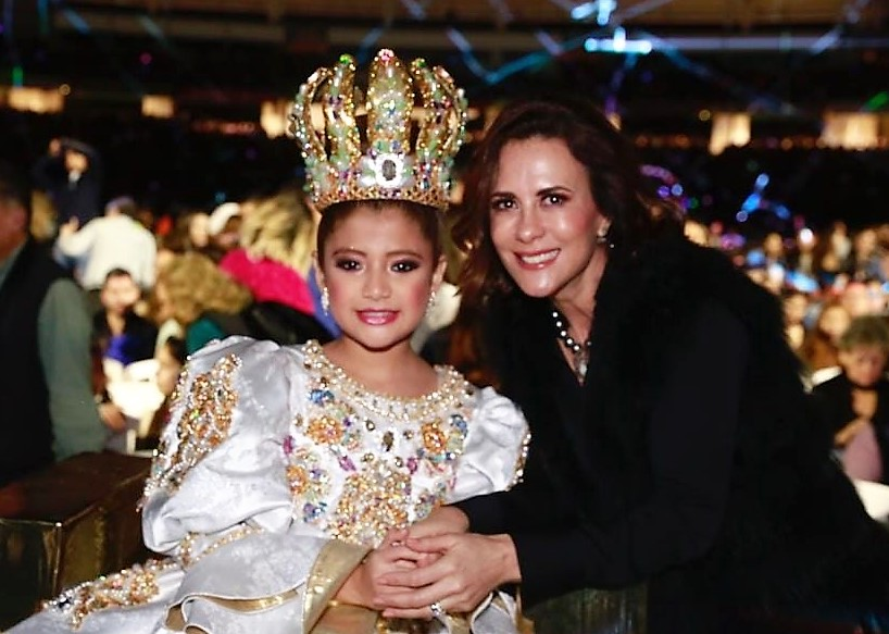 Valentina I Rosy Fuentes de Ordaz Coronación Reina Infantil Carnaval de Mazatlán 2020
