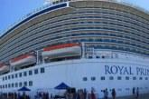 Llegan cruceros turísticos Carnival Panorama y Royal Princess a Mazatlán