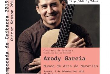 Concierto de Guitarra con Arody García.
