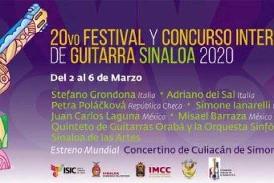 Festival y Concurso  Internacional de Guitarra