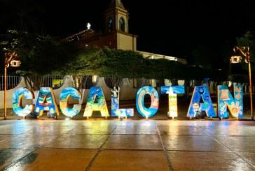 Inauguran parador fotográfico en Cacalotán