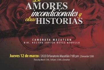 """Presentarán el gran concierto """"De amores incondicionales y otras historias"""""""