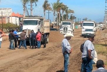 Denuncia CMIC Bloqueos a Constructoras que Operan en Av. Rafael Buelna de Mazatlán