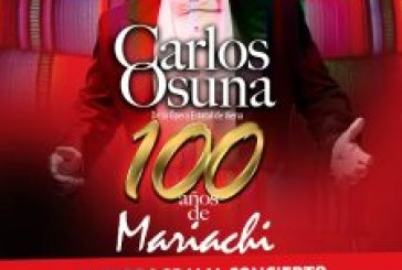 """Vivace Producciones anuncia la reprogramación del concierto """"Carlos Osuna,100 años de mariachi"""""""