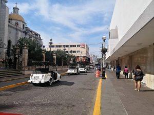 Línea Amarilla en Centro de Mazatlán que quién sabe a los bolsillos de Quién irá 2020