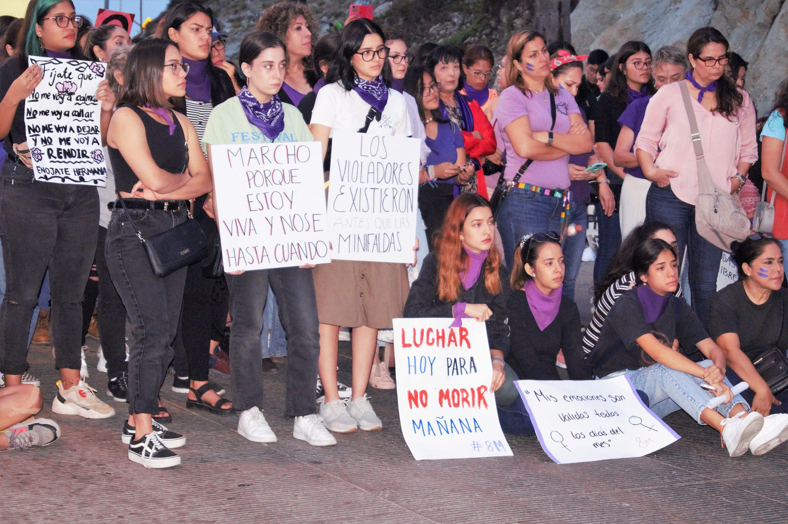 Manifestación Día de la Mujer en Mazatlán 2020 1