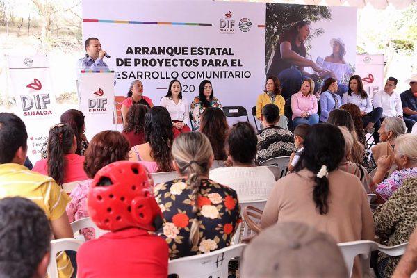 Rosy Fuentes de Ordaz El Turle San Ignacio Sinaloa México ZOna Tropico Visita DIF 1