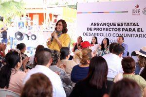 Rosy Fuentes de Ordaz El Turle San Ignacio Sinaloa México ZOna Tropico Visita DIF 2