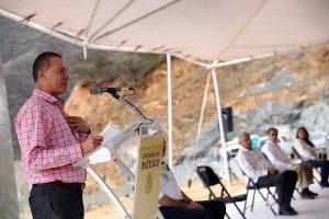 Supervisan AMLO y Quirino construcción de la carretera Badiraguato Chihuahua 3