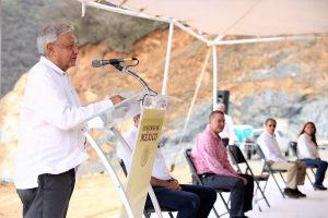 Supervisan AMLO y Quirino construcción de la carretera Badiraguato Chihuahua 4