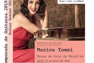 La Sociedad de la Guitarra Mazatlán, A.C. te invita a asistir al próximo concierto