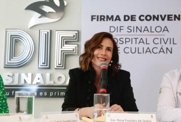 DIF Sinaloa y el Hospital Civil signan convenio de colaboración