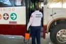 Toman medidas en el transporte público por COVID 19