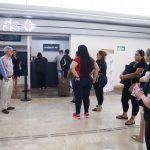 Supervisa Quirino el filtro de sanidad en el aeropuerto de Culiacán