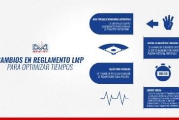 A partir de la Temporada 2020-2021 de la LMP, se aplicarán algunas medidas para agilizar el tiempo efectivo del juego