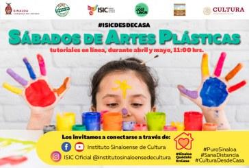 """Inicia en """"ISIC Desde Casa"""" serie de tutoriales con Sábados de Artes Plásticas."""