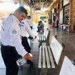 Coepris Sanitiza el Transporte Público de Sinaloa ante Covid – 19 2020