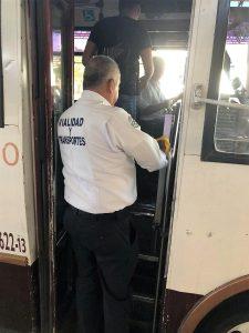 Coepris Sanitiza el Transporte Público de Sinaloa ante Covid - 19 2020 2