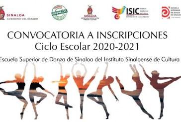 En línea, sigue periodo de inscripciones   en la Escuela Superior de Danza del ISIC.