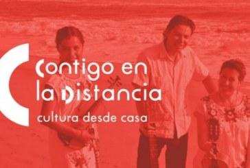 """""""Contigo  en la distancia: Movimiento de Arte en casa"""""""