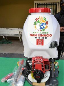 Iván Báez Martinez Presidente San Ignacio Sinaloa Zona Trópico Refiuerza Medidas Preventivas Covid 19 Abril 2020 2